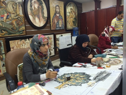 Mosaic artists